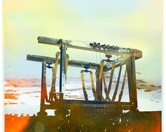 Boat Cradle, limited edition fine art print
