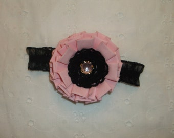 """Hair Band - """"Pink Baby Flower"""""""