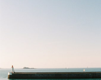 Sea pier in France - Fine art photo - 12x8 - high quality photography print