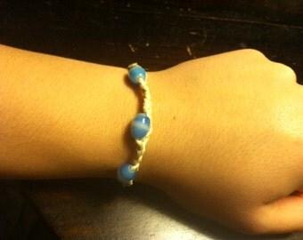Bracelet: Braided with Beads