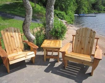 Have A Chair  cedar adirondack chairs