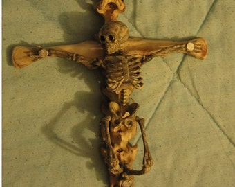 Skeletal Crucifix