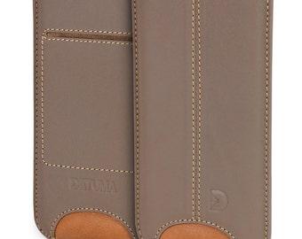 Apple iPhone iPhone 6s plus case, 6 plus cover leather, natural leather pouch case cover pouch - DETUMA® Talha Roys etop