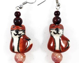 Quite Foxy Earrings