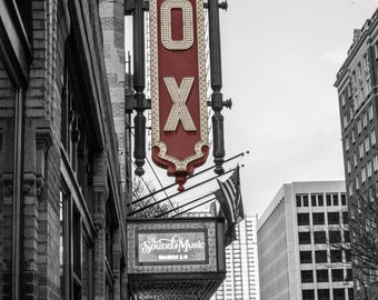 Famous FOX theater in Atlanta Georgia