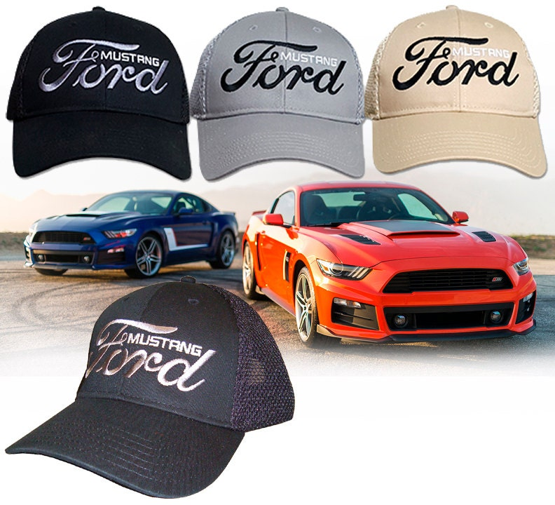 Ford Mustang Hat Hh  Ford Gt Pony Boss Shelby Fox Snake
