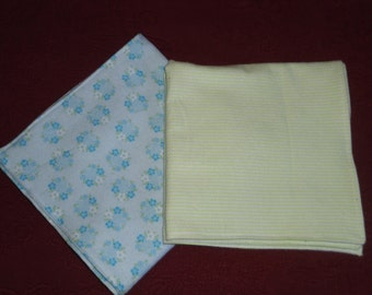 Doll Receiving Blankets set of 2
