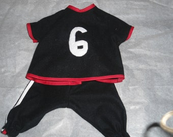 GO TEAM Baby Boy Doll 2 pc outfit