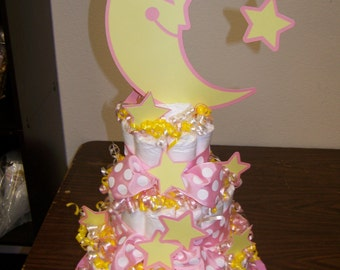 Twinkle Twinkle Little Star Diaper Cake