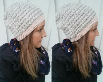 Crochet hat pattern, perfect for spring!