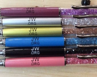 Pack of 5 pens pencil    JW.org you choice yhe color color shown6 Colors to Choose From.