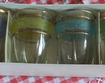 Vintage Boxed Glasses