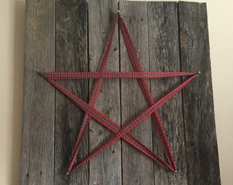 Rustic Star Hanging