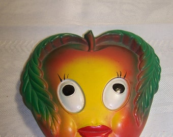 Apple Face Pot Mitts Holder