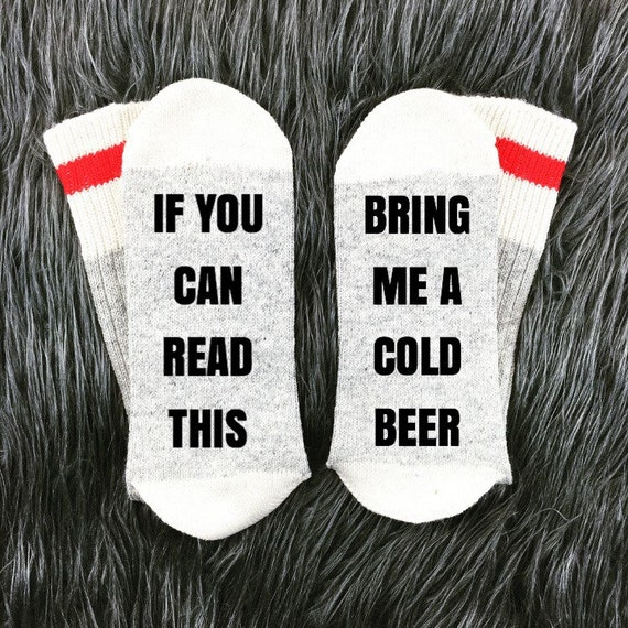 Beer Socks Mens Bring Me If You Can