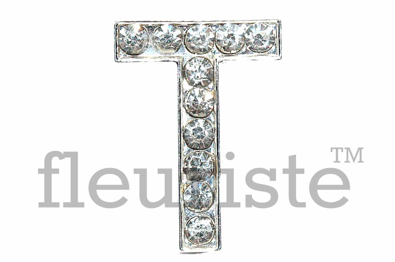 Bulk Letters Letter T Rhinestone Bulk Metal Rhinestone Rhinestone