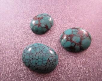 Turquoise Cabochons 3pcs