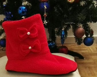 Fleece  Boots Slippers Home Slippers