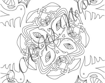 Mandala Print 1