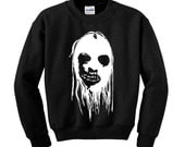 SCARY HALLOWEEN FACE JumperSweatshirt Trick or Treat Fancy Dress Scary Costume