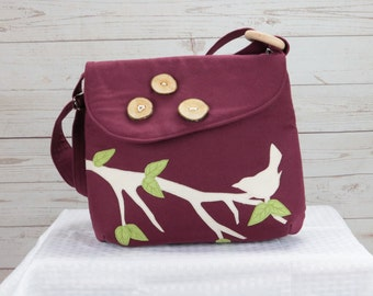 Wine Bird Purse