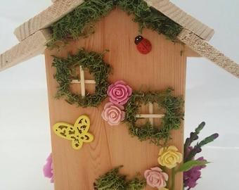 Fairy house, fairy home, fairy indoor garden,fairy lights