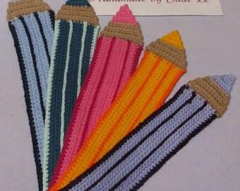 Pencil bookmarks