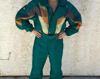 Totally Rad Vintage 80's Descente Ski Suit