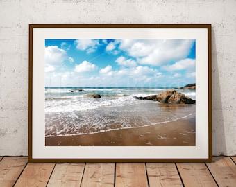 Beach, Landscape Art, Landscape Wall Art, Landscape Print, Landscape Art Print, Landscape Pictures, Landscape Poster, Surf Photography