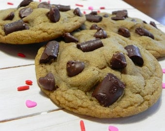 Salted Chocolate Chip/Chunk Cookies