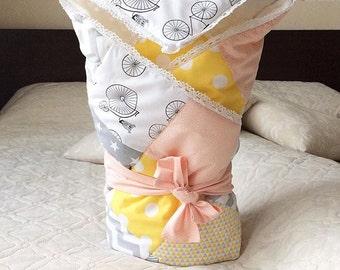 Blanket for a newborn.  Конверт на выписку