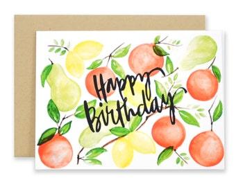 Citrus Happy Birthday