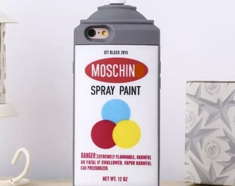 Paint Can, Spray Paint Silicone Phone Case for iPhone 5s, 6s, 6 plus, and 6s plus