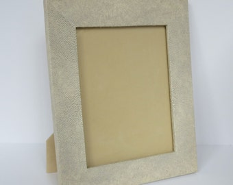 Genuine shagreen frame