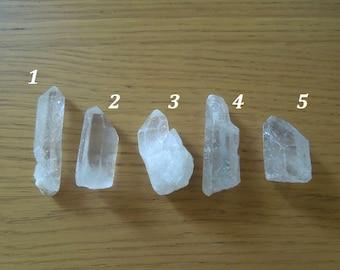Natural Clear White Spike Quartz