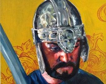 Custom Portrait Oil Painting