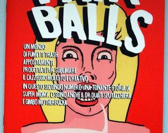 Fairballs # 2   self-produced comic
