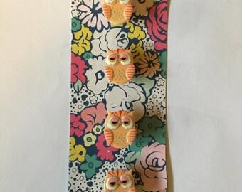 Sleepy Owl Magnets (Set of 4)