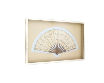 Antique 19th Century Framed Japanese Fan