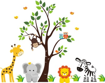 Nursery Wall Decals Kids Room Wall Stickers By NurseryDecalsYou - Nursery wall decals