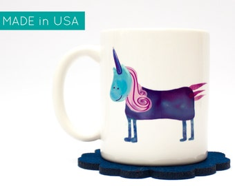 unicorn coffee mug - unicorn mug, unicorn gift, unicorn cup, lgbt gift, girlfriend gift, back to school, cute mug, coffee lover gift