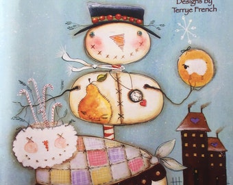 New Tole Painting Book Never Used A New Day And A Little Whimsy Whimsical Designs By Terrye French