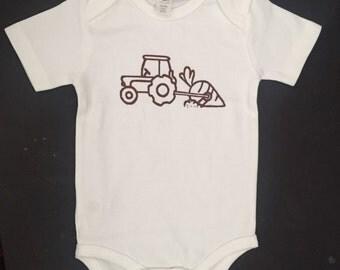 Big Catch- Baby Bodysuit- Organic Cotton- Screen Printed
