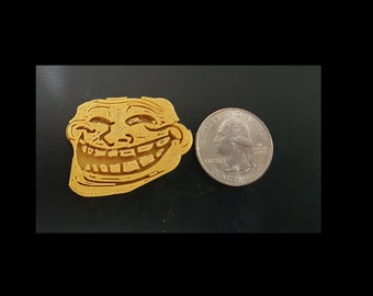 Problem?  3D printed Troll face