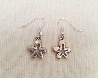 Hippy flower earrings