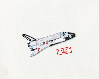 Space Shuttle Iron on Patch