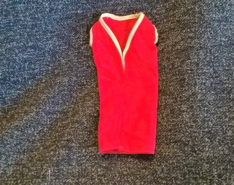 Tressy's original red shift dress from 1963, American Character Corp