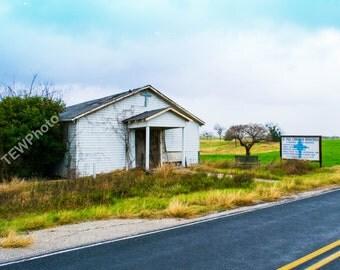 Abandon Church in Texas.