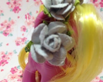 Small Kawaii lps or mlp handmade flower