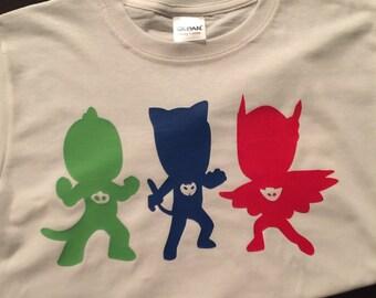 PJ Masks Birthday Shirt